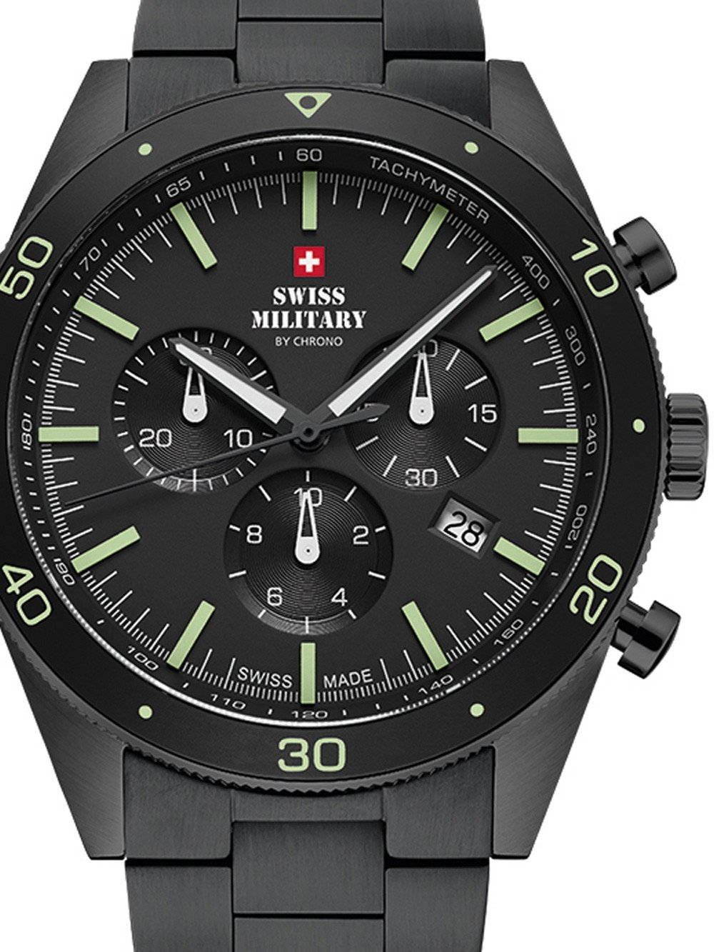 Swiss Military SM34079.03 Chronograph 43mm 10ATM
