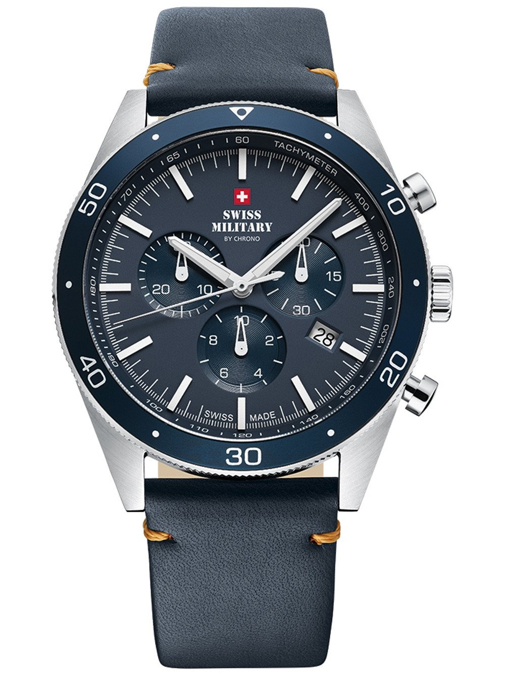 Swiss Military SM34079.05 Chronograph 43mm 10ATM