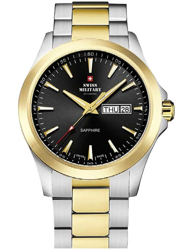 Swiss Military by Chrono SMP36040.27 Sapphire Herren 42mm 5ATM