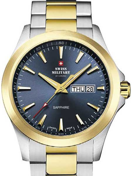Swiss Military by Chrono SMP36040.28 Sapphire Herren 42mm 5ATM