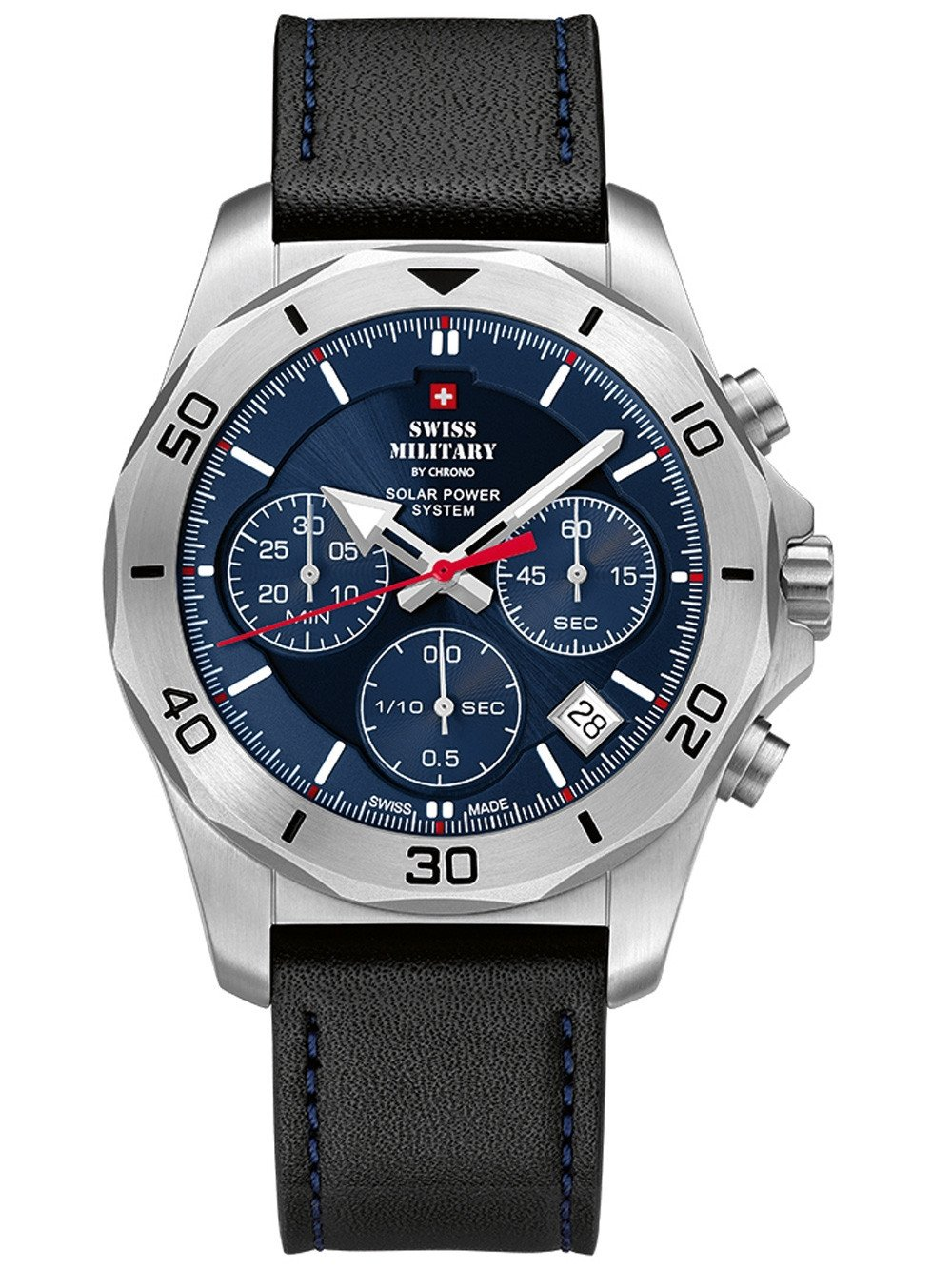 Swiss Military SMS34072.05 Solar Chronograph 44mm 10ATM