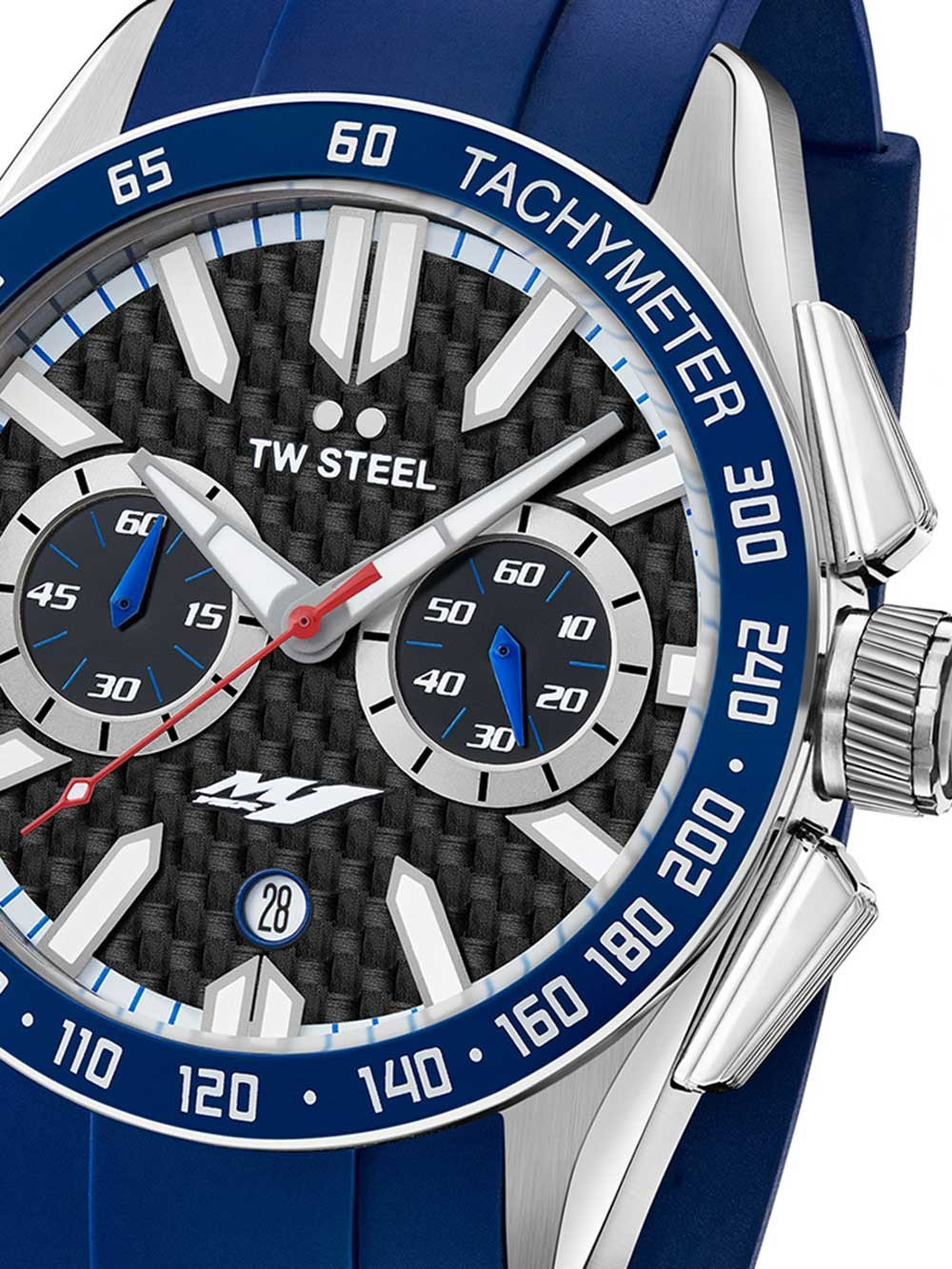 TW-Steel GS4 Yamaha Factory Racing Chrono 46mm 10ATM