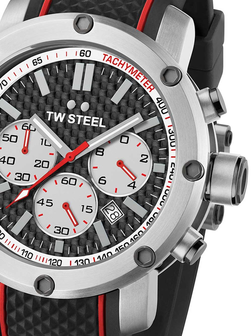 TW-Steel TS2 Grandeur Tech 48 mm 10ATM