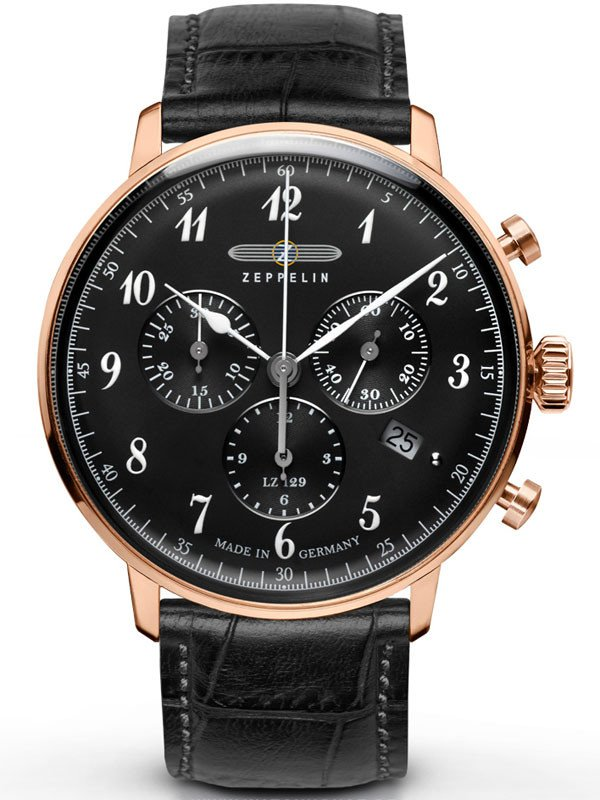 Zeppelin Hindenburg 7084-2 Chronograph Herren 40 mm