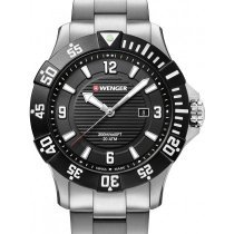 Wenger 01.0641.131 Seaforce Taucheruhr 43mm 20ATM