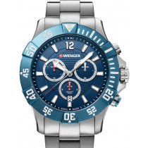 Wenger 01.0643.119 Seaforce Taucher-Chronograph 43mm 20ATM
