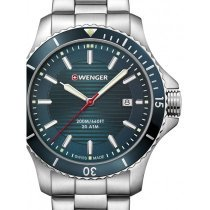 Wenger 01.0641.129 Seaforce Herren 43mm 20ATM
