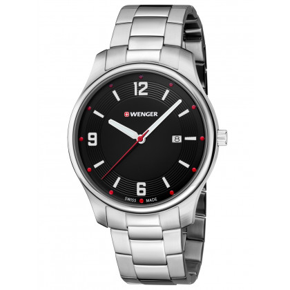 Wenger 01.1441.110 City Active Herren 43mm 3ATM