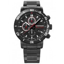 Wenger 01.1843.110 Roadster Black Night Chronograph 45mm 10ATM
