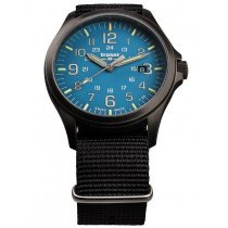 Traser H3 108647 P67 Officer GunMetal Skyblue Herren 42mm 10ATM