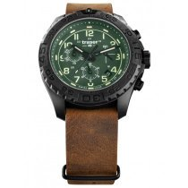 Traser H3 109047 P96 OdP Evolution grün Chronograph 44mm 20ATM