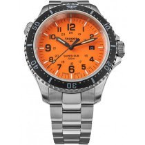Traser H3 109381 P67 T25 SuperSub Orange 46 mm Taucheruhr 50ATM