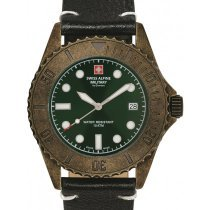 Swiss Alpine Military 7051.1583 Diver Vintage 41mm 10ATM