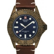 Swiss Alpine Military 7051.1585 Diver Vintage 41mm 10ATM