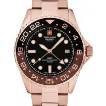 Swiss Alpine Military 7052.1164 GMT Diver 42mm 10ATM