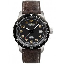 Zeppelin 7264-5 Night Cruise Herren 43mm 20ATM