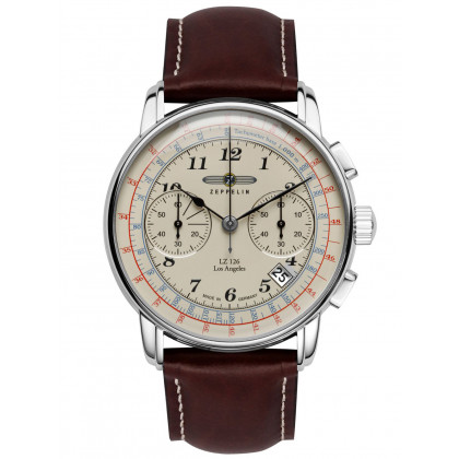 Zeppelin 7614-5 LZ-127 Chronograph 43mm 5ATM