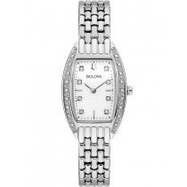 Bulova 96R244 Diamantuhr (24) Damen 24mm 3ATM