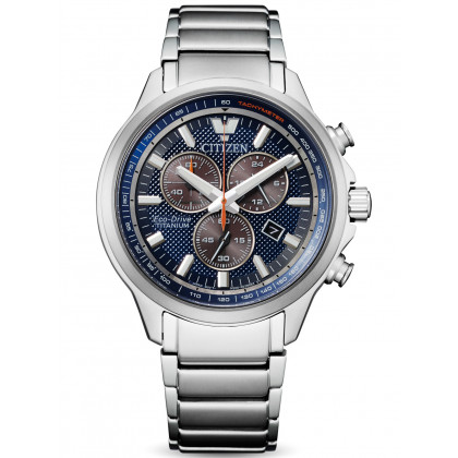 Citizen AT2470-85L Super-Titanium Eco-Drive Chronograph 40mm
