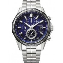Citizen AT8218-81L Eco-Drive Funkuhr Chronograph 44mm 10ATM