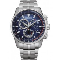 Citizen CB5880-54L Eco-Drive Funkuhr Chronograph 43mm