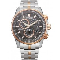 Citizen CB5886-58H Eco-Drive Funkuhr Chronograph 43mm 20ATM