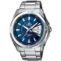 CASIO EF-129D-2AVEF EDIFICE Herren 45mm 10ATM