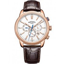 Rotary GS05084/06 Oxford Chronograph Herren 40mm 5ATM
