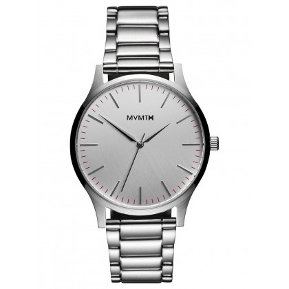MVMT MT01-S 40 Series Silver Herren 40mm 3ATM