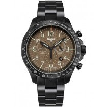 Traser H3 109460 P67 Officer Chronograph Khaki Steel 46mm 10ATM