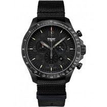 Traser H3 109465 P67 Officer Chronograph Black Nato 46mm 10ATM