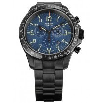 Traser H3 109462 P67 Officer Chronograph Blue Steel 46mm 10ATM
