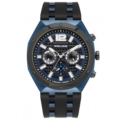 Police PL15995JSBLU.03P Luang Chronograph 48mm 10ATM