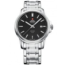 Swiss Military SM34039.01 Herren Saphirglas 40mm 10ATM