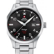 Swiss Military SM34078.01 Herren 43mm 10ATM