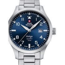 Swiss Military SM34078.03 Herren 43mm 10ATM