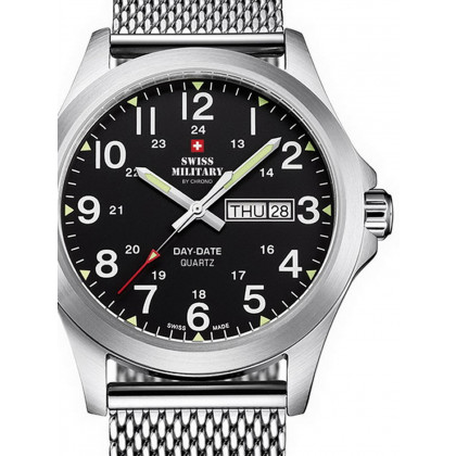 Swiss Military SMP36040.13 Herren 42mm 5ATM