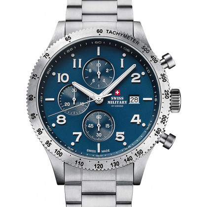 Swiss Military SM34084.02 Chronograph 42 mm 10ATM