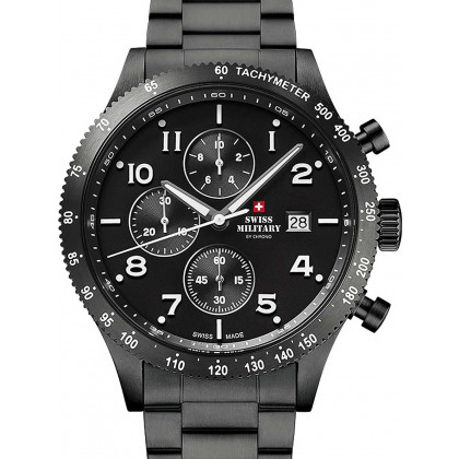 Swiss Military SM34084.03 Chronograph 42 mm 10ATM