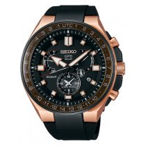 Seiko SSE170J1 Astron GPS Solar Executive Sports m. Wechselarmb. 46mm 20ATM
