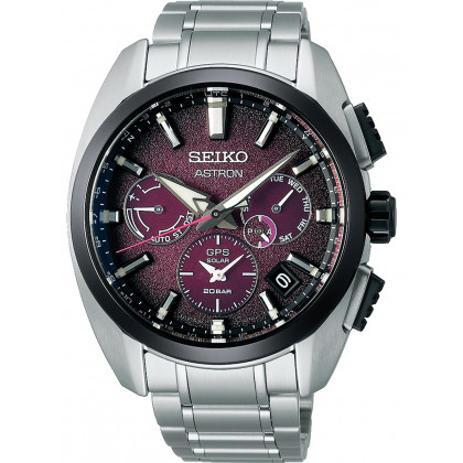 Seiko SSH101J1 Astron GPS Solar Dual Time Limited Edition 43mm 20ATM