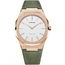 D1 Milano UTLL08 Ultra Thin Damen Ulivo 40mm 5ATM