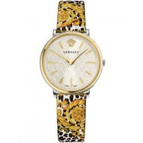 Versace VBP120017 V-Circle Damenuhr 36mm 5ATM