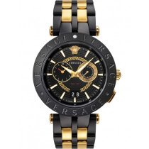 Versace VEBV00619 New V-Race Chronograph Herren 46mm 5ATM
