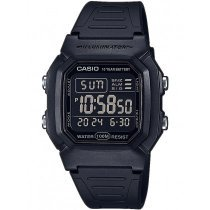 Casio W-800H-1BVES Collection Herren 37mm 10ATM