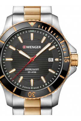 Wenger 01.0641.127 Seaforce Herren 43mm 20ATM