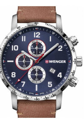 Wenger 01.1543.108 Attitude Chonograph 44mm 10ATM