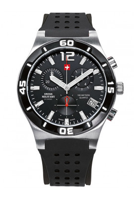 Swiss Military SM34015.05 Chronograph 43mm 10ATM