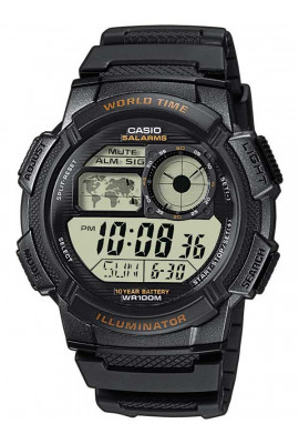 CASIO AE-1000W-1AVEF Collection 44mm 10ATM