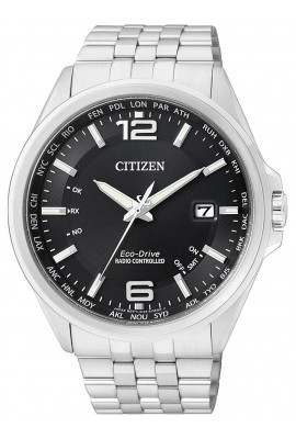 Citizen Eco-Drive Elegant CB0010-88E 4-Zonen Funkuhr 43 mm 100M